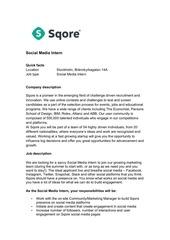 PDF Document internship description social media intern