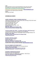 PDF Document upevents