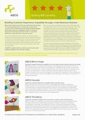 abcg building cx capability brochure