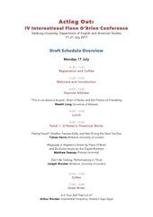 flann salzburg 2017 draft schedule