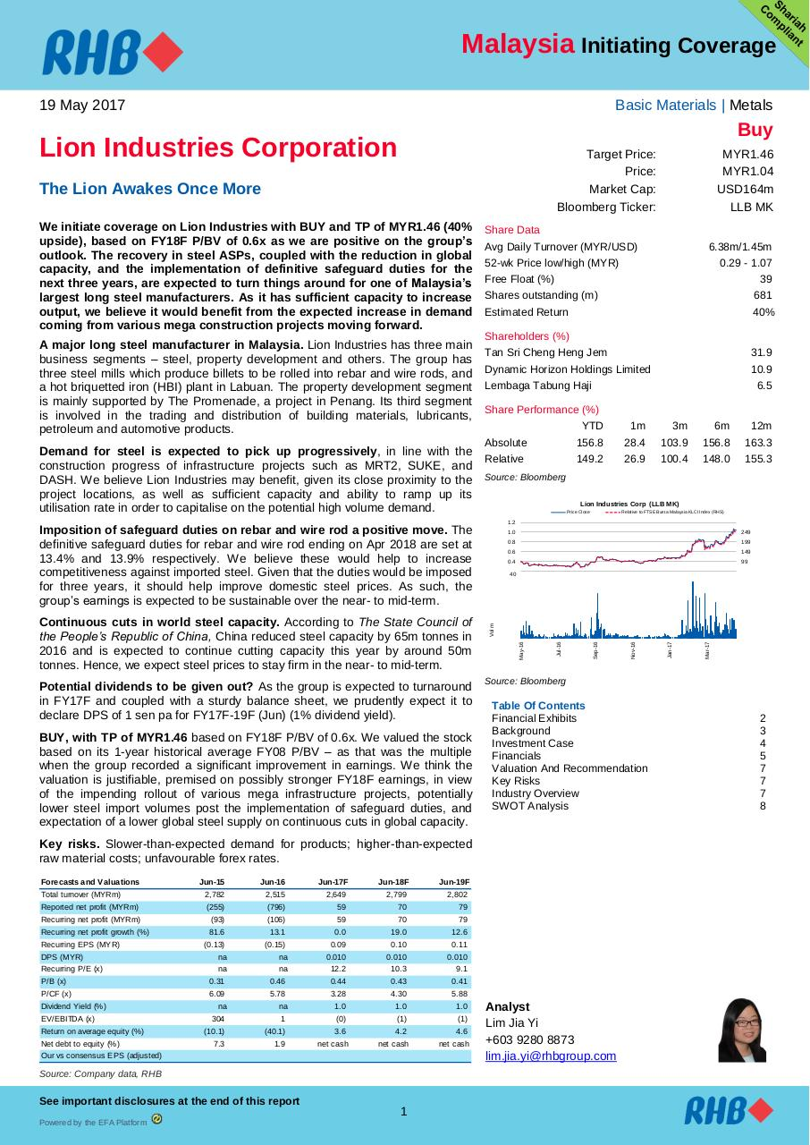 MY_Lion Industries_Initiating Coverage_20170519_RHB.pdf - page 1/13