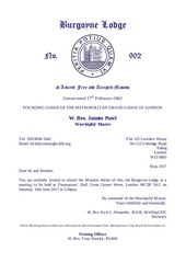 2017 06 10 burgoyne lodge no 902 summons june 2017