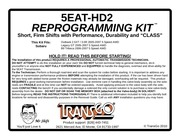 5eat hd 2 transgo instructions