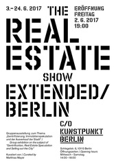 flyer the real estate show extended berlin