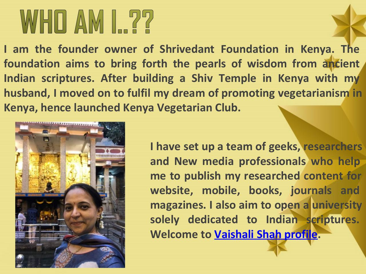 Know about Shrivedant Foundation- Founded by Vaishali Shah.pdf - page 2/11