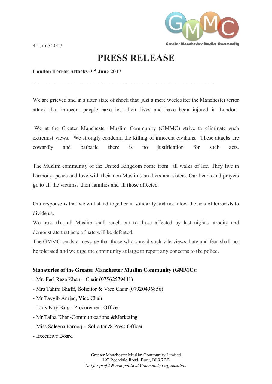 GMMCPress Release 4th June 2017 - PDF Archive