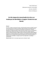 artigo final comunicac o organizacional
