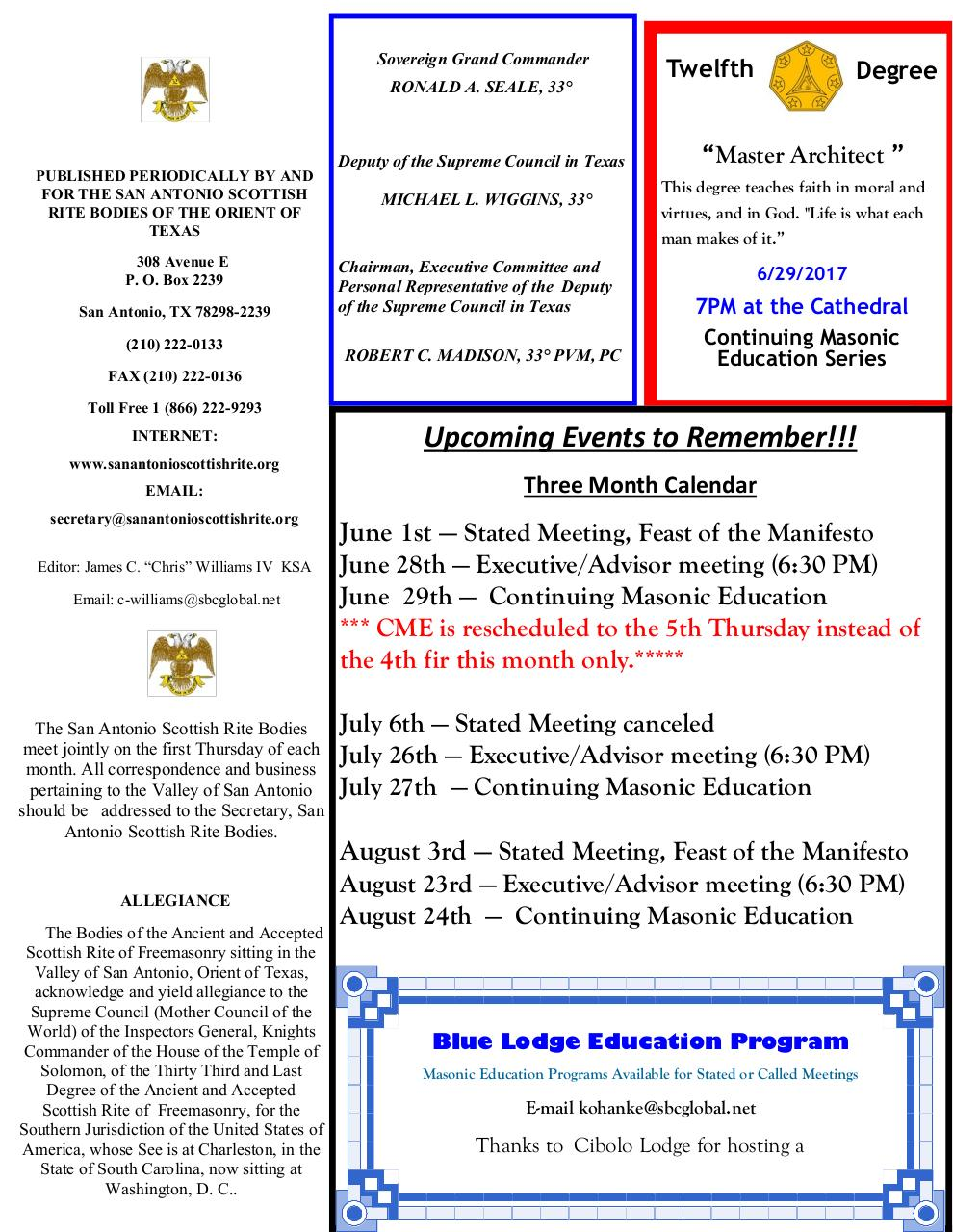 Scottish Rite News June 2017.pdf - page 2/15