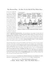 hooton plan leaflet