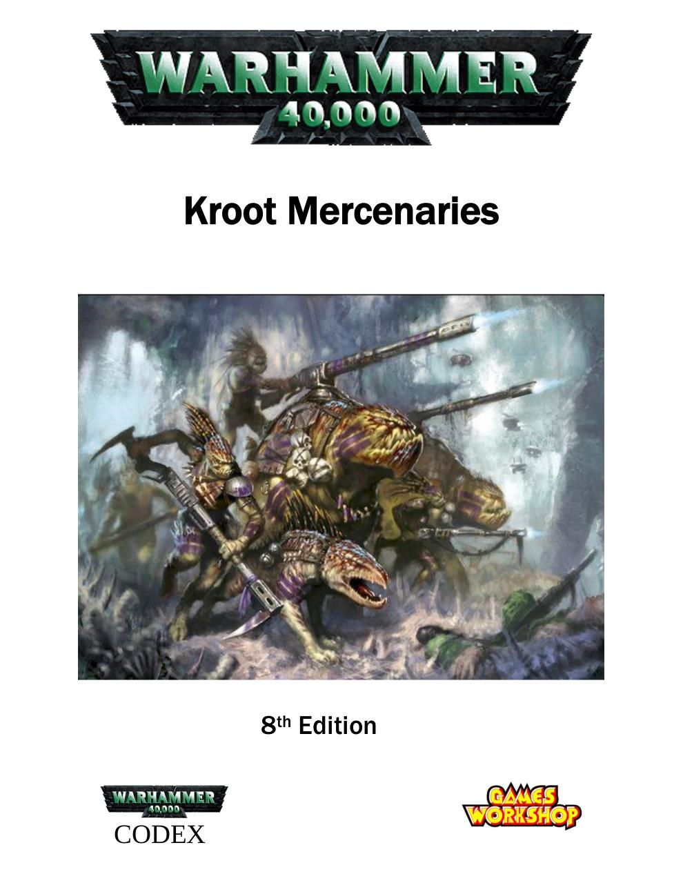 Oaka's 8th Edition Kroot Codex.pdf - page 1/25