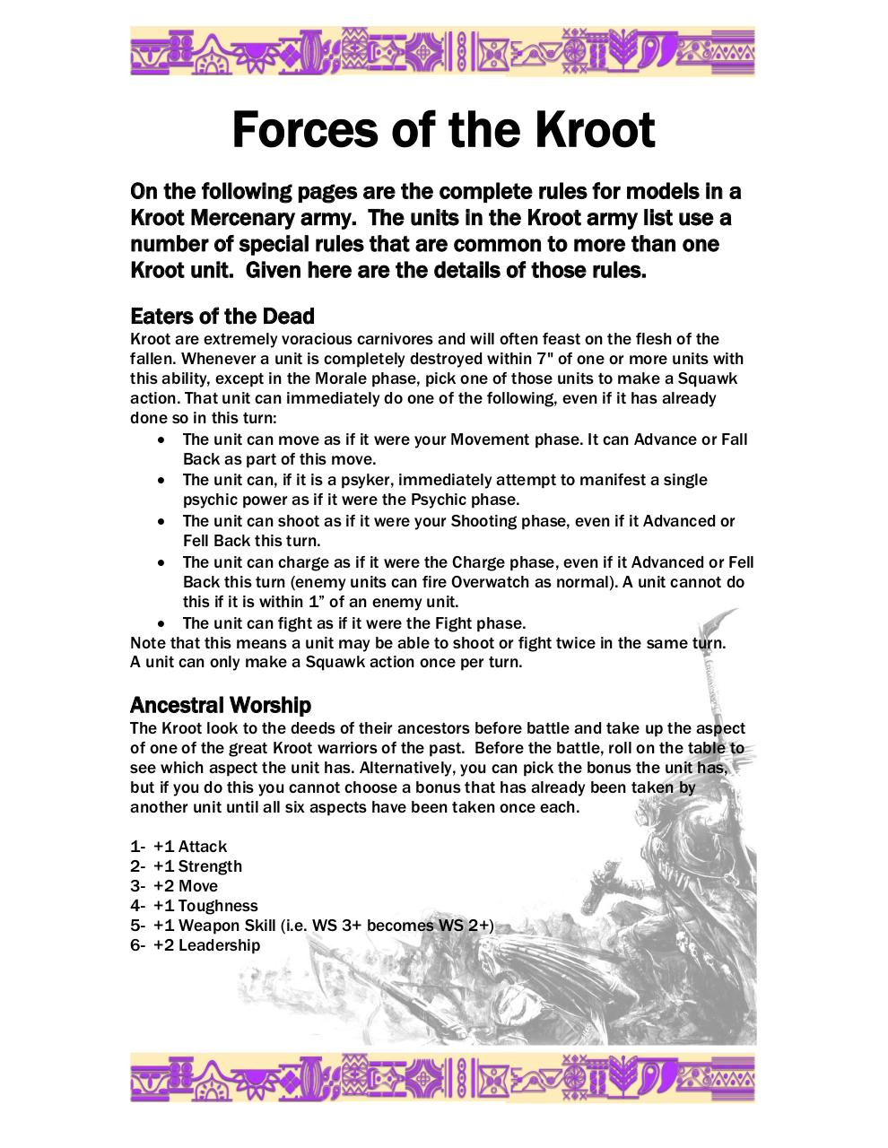 Oaka's 8th Edition Kroot Codex.pdf - page 3/25
