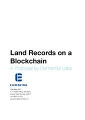 blockchain real estate