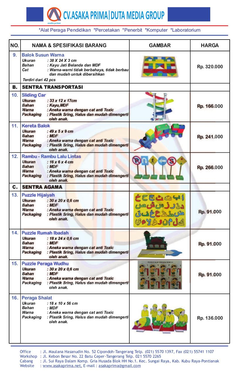 Preview of PDF document daftar-harga-katalog-ape-2017-lengkap-cv-asaka-prima.pdf