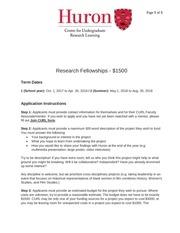 fellowship application instructions