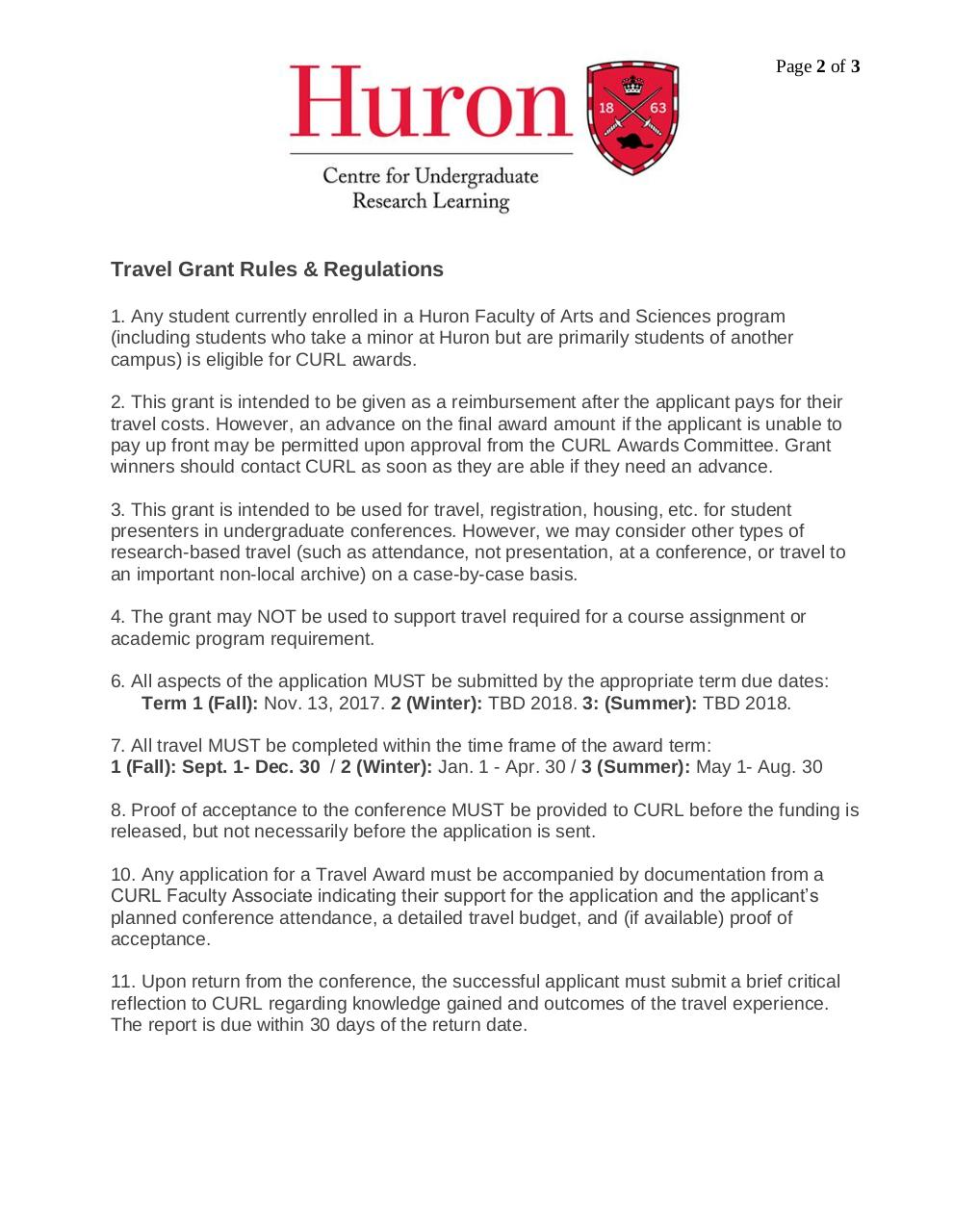 Travel Grants Application Instructions.pdf - page 2/3