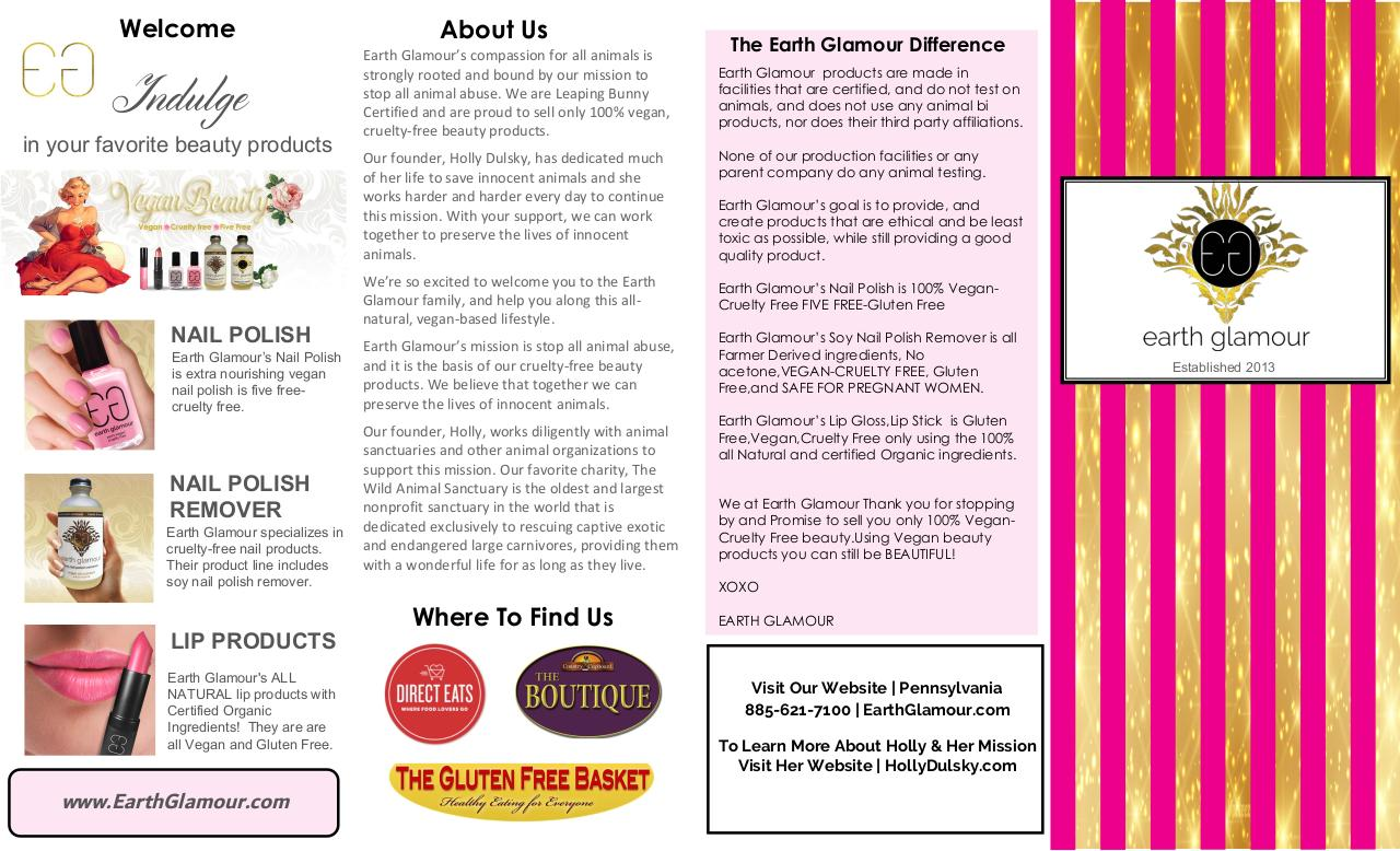 Document preview holly-dusky's-earth-glamour-vegan-beauty-products.pdf - page 1/2