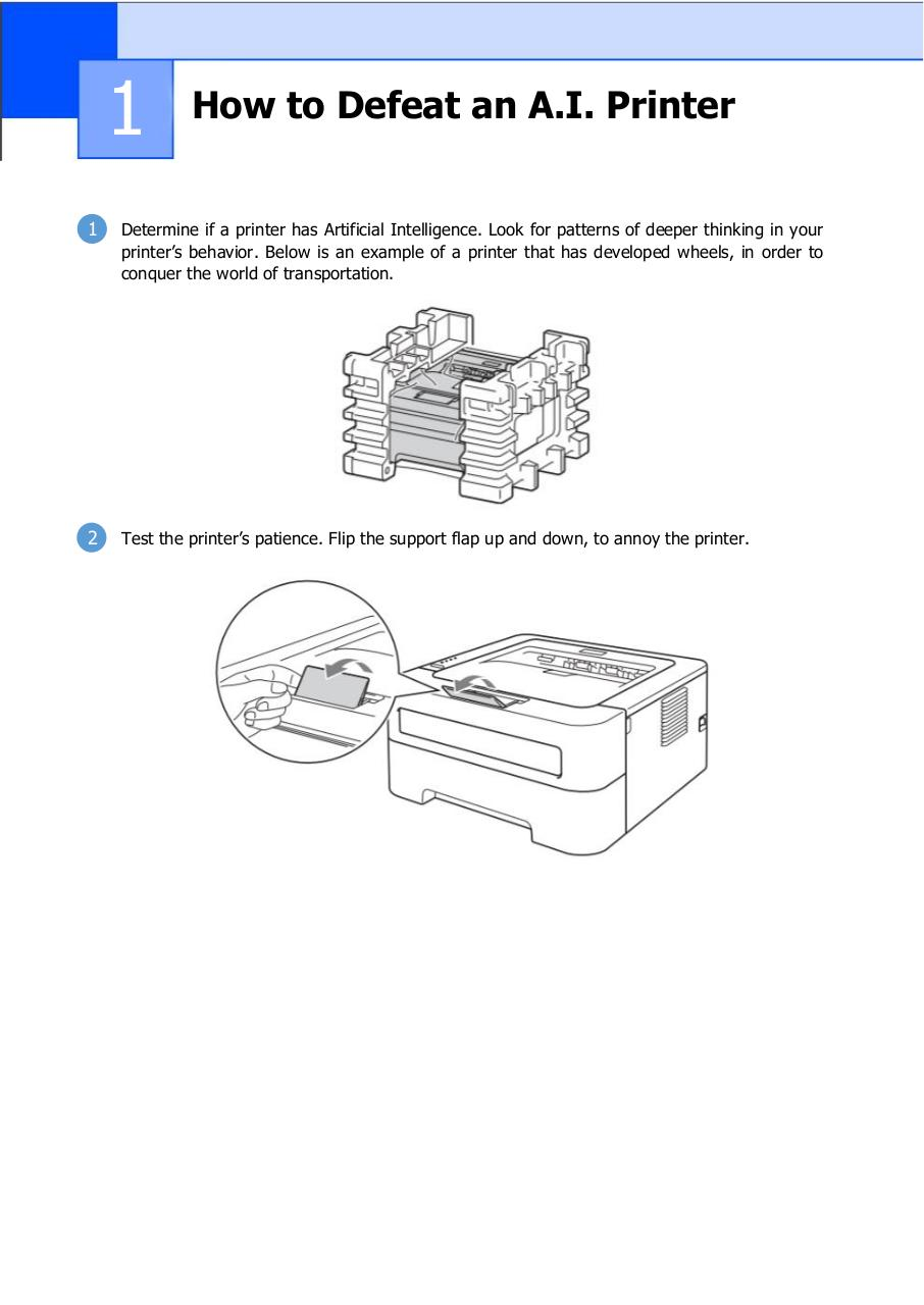 Document preview How to Defeat an A.I. Printer.pdf - page 1/5