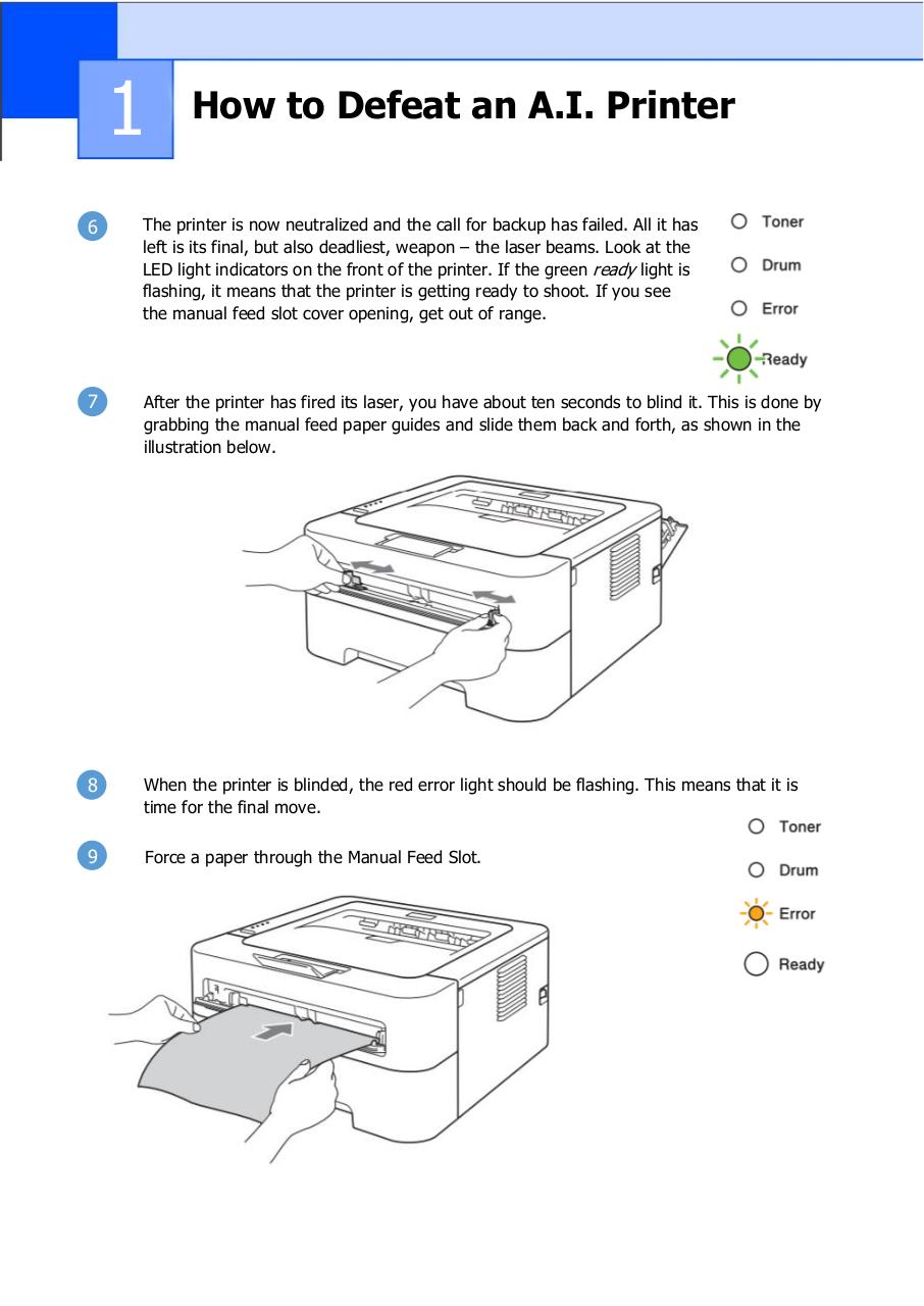 Document preview How to Defeat an A.I. Printer.pdf - page 4/5