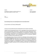 pm zur gestaltungskommis dresden gesamtstadt