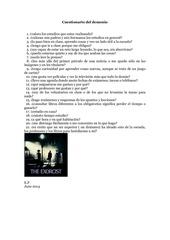 cuestionario del demonio