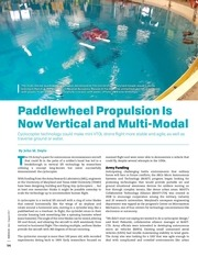paddlewheel propulsion is now vertical and multi modal