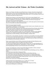 PDF Document die antwort auf die tr ume die wahre geschichte