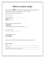 order form for feedback