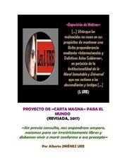 proyecto de carta magna para el mundo revisado 2017