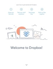 PDF Document get started with dropbox