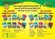 paket paud tematik saintifik harga rp 90 000