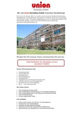 PDF Document stellenanzeige kolonnenf hrer f r ger stbau mw