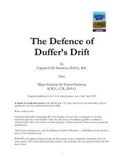 duffersdrift