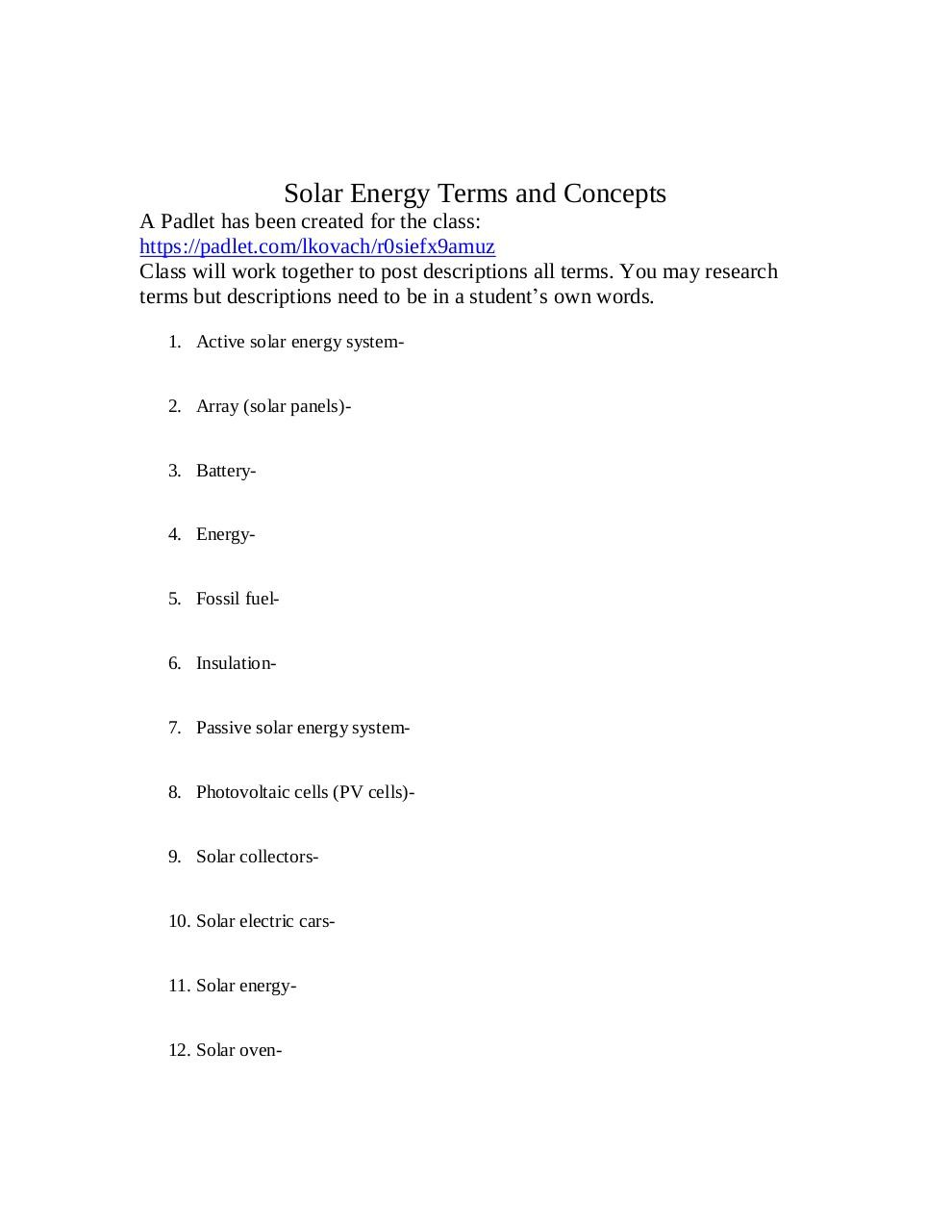 Document preview Solar Terms and Concepts.pdf - page 1/2
