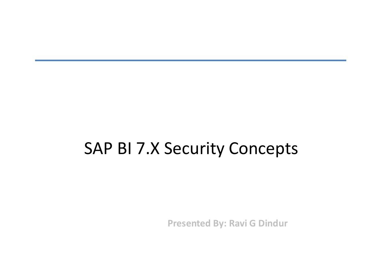 SAP BI 7 Security.pdf - page 1/61