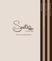 smiths bar and lounge menu