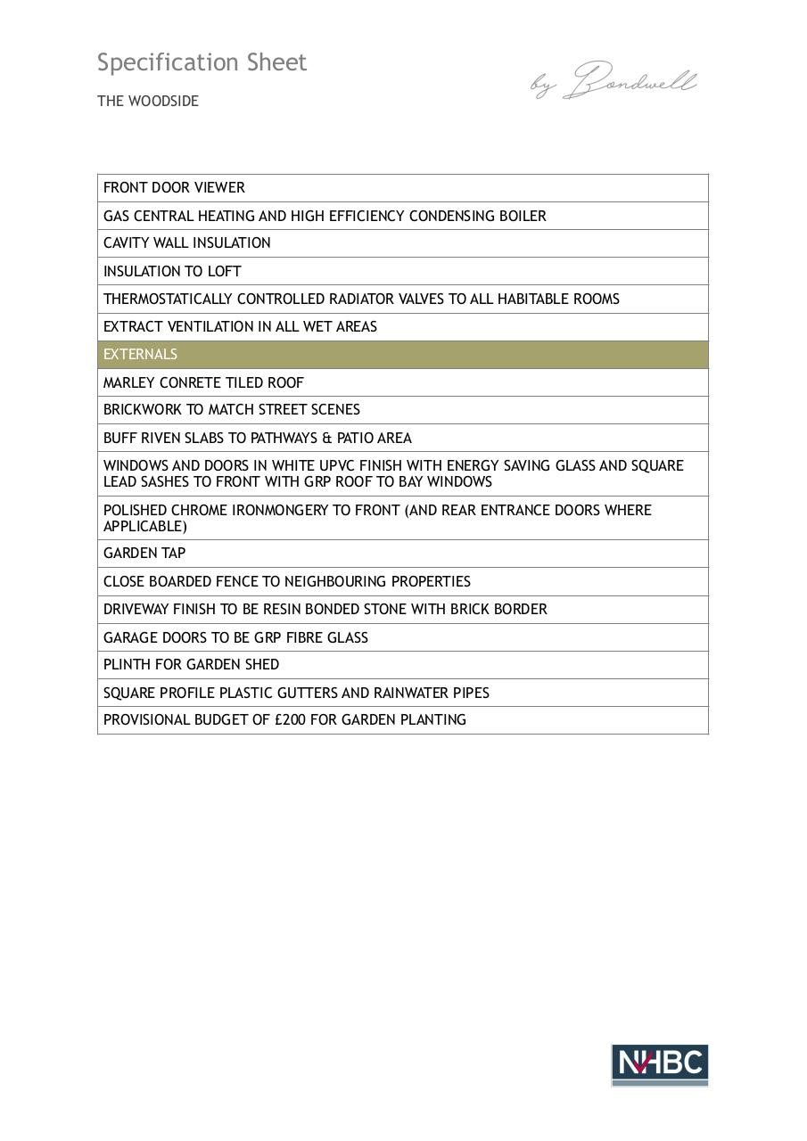 Specification Sheet - Woodside.pdf - page 3/3