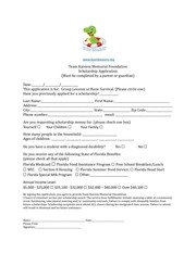 2017 team kareem scholarship and registration form