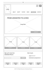 all wireframes