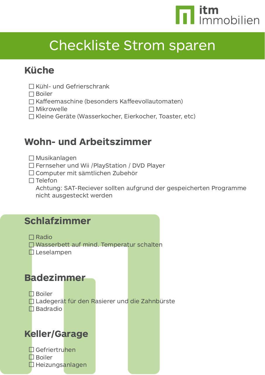 Badezimmer Checkliste – vitaplaza.info