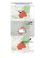 quick guide about using mapcraft tool in ilam project
