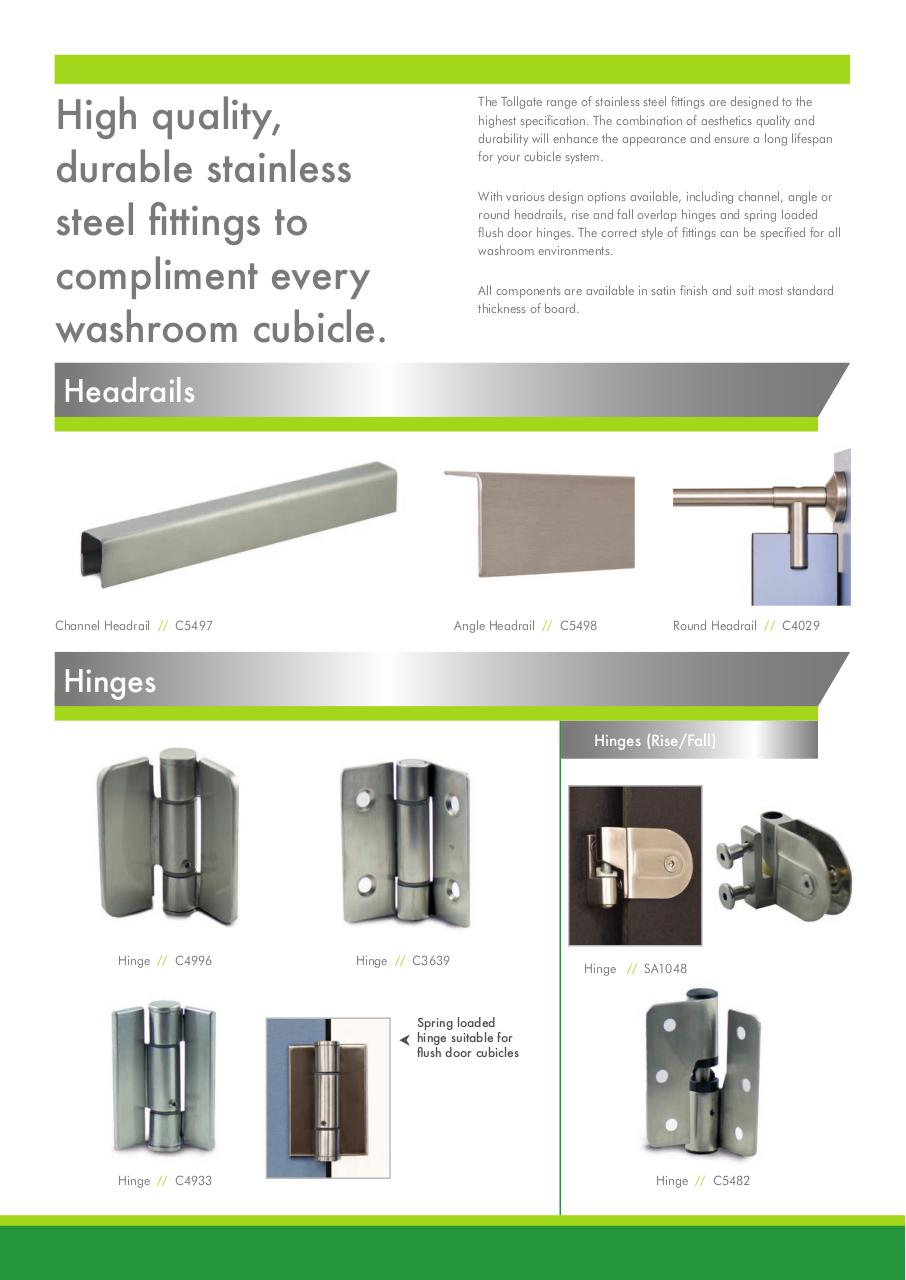 Tollgate Stainless Steel leaflet A4 March_17 .pdf - page 2/4