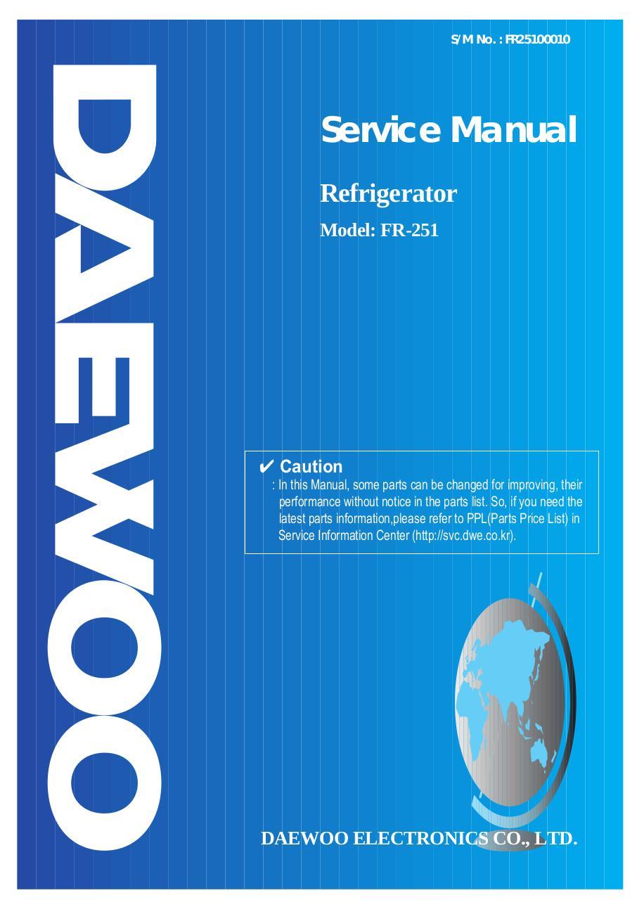 daewo (FR-251)[2].pdf - page 1/18