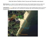 kids get active swim course and transition