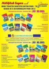 paket buku paud tk tahun 2017