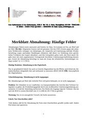 PDF Document abmahnung die h ufigsten fehler