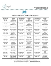 okc public clinic calendar august 1