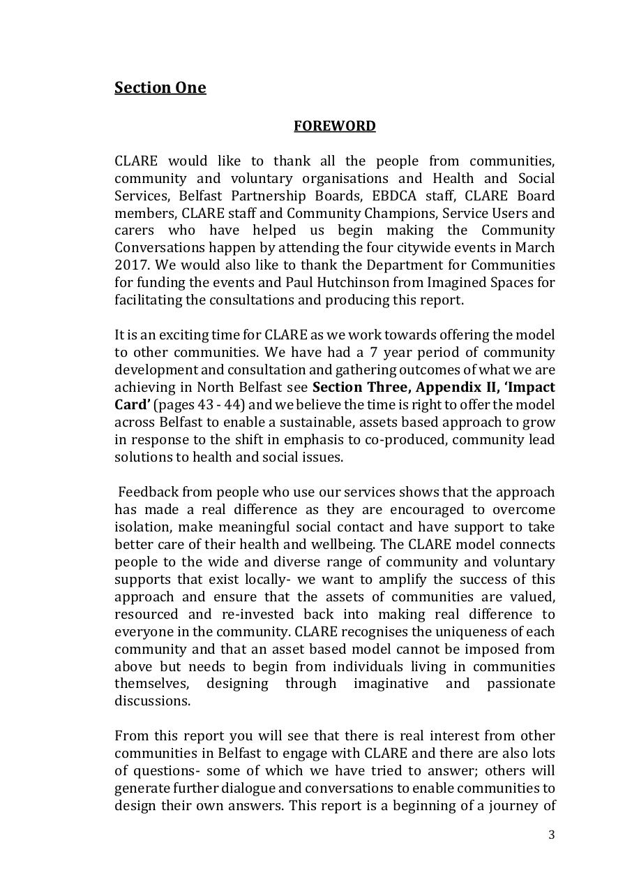 CLARE Community Consultation Report.pdf - page 4/47