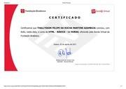 certificado html b sico