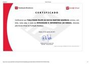 certificado introdu o inform tica