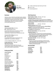 idrisalton resume experiencedteacher 1